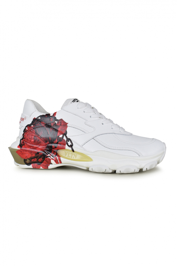 Luxury sneakers for men - White Valentino Bounce x Undercover