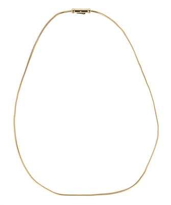 gold Boa Chain Necklace