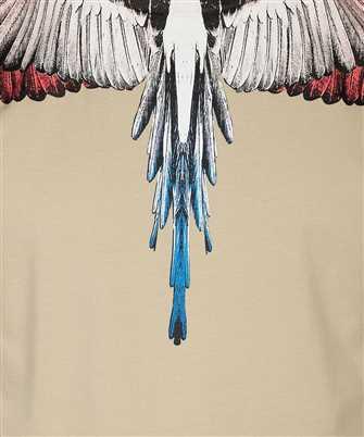 marcelo burlon multicolor wings t-shirt