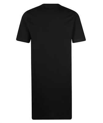 long-print t-shirt dress