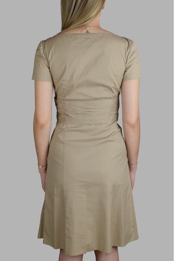Luxury dress for women - Prada beige cotton dress