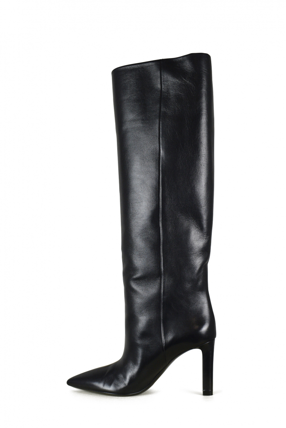 Luxury shoes for women - Saint Laurent Kate 85 boots in black leather