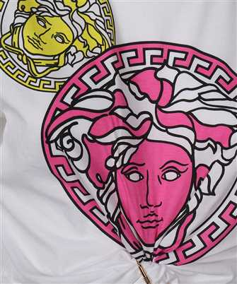 Versace MEDUSA AMPLIFIED MOTIF CROPPED T-shirt