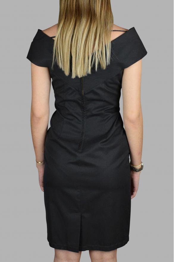 Luxury dress for women - Prada low-cut dress in gray cotton