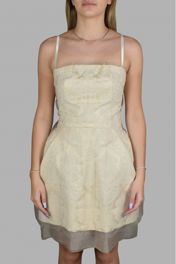 Luxury dress for women - Dolce & Gabbana dress with embroidery and tule