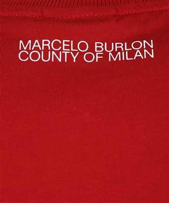 marcelo burlon rural cross basic neck t-shirt