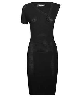 Dsquared2 ASYMETRIC KNIT Dress