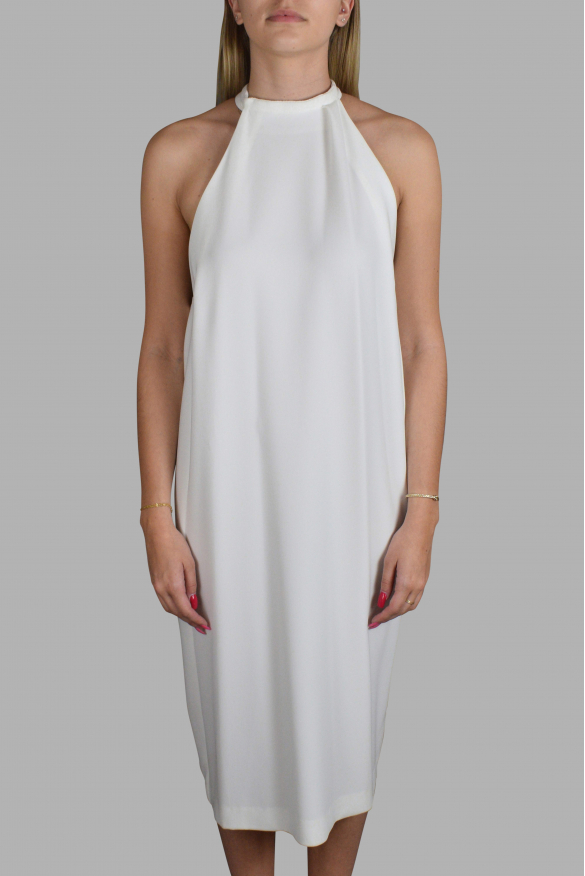 Luxury dress for women - White Balenciaga open back dress