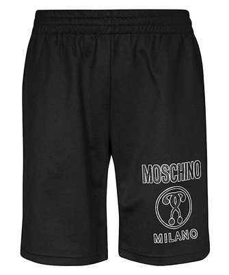 double question mark logo shorts