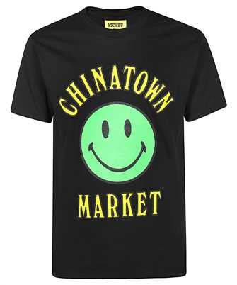 smiley-print crew-neck T-Shirt