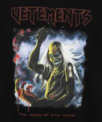 Vetements BLOODY LOGO HEAVY METAL T-shirt