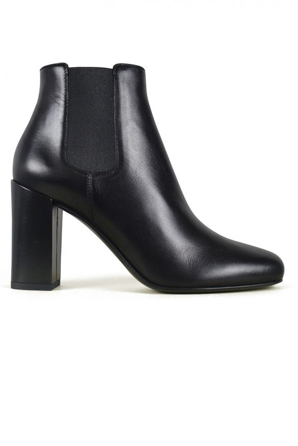 Women luxury shoes - Saint Laurent Chelsea Babies 90 black boots