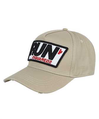 run logo-patch cap