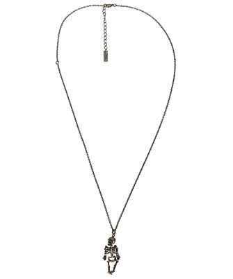 saint laurent squelette necklace