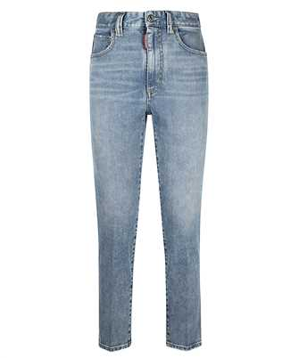 high waist cropped twiggy' jeans