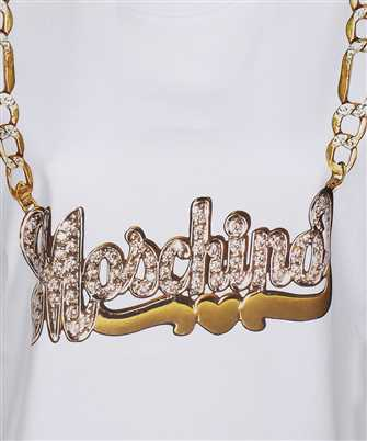 Moschino MOSCHINO NECKLACE T-shirt