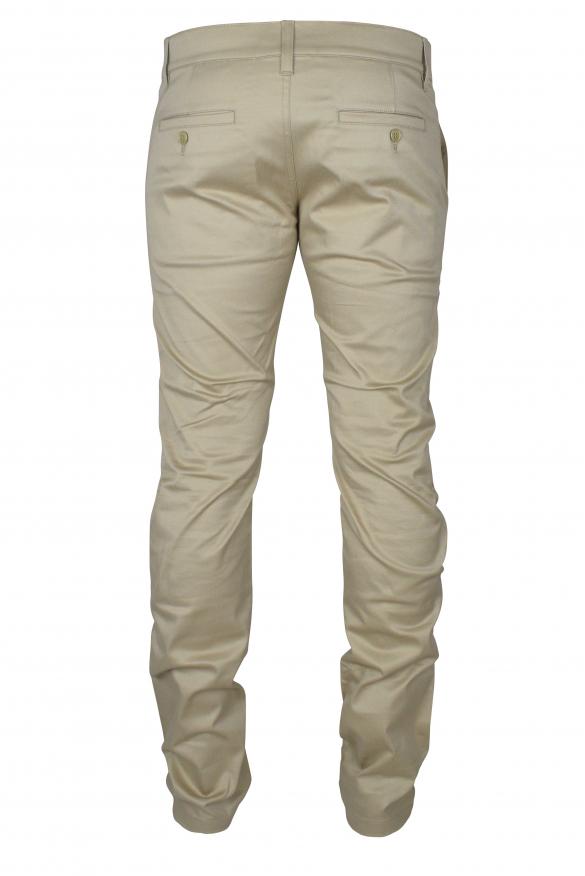 Men's luxury pants - Saint Laurent beige classic pants