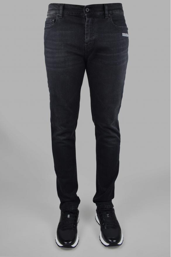 Men's luxury jean - Black Off-White jean