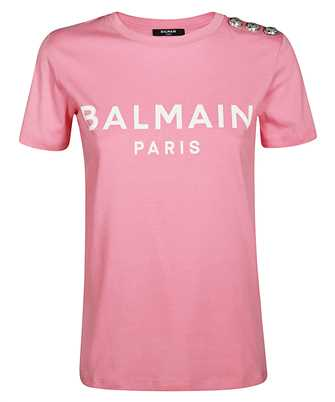 Balmain FLOCK LOGO T-shirt