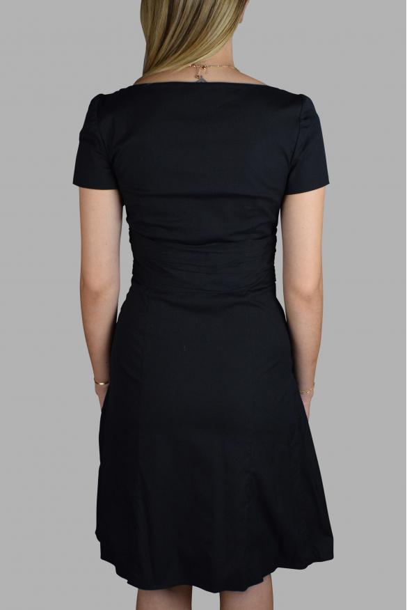 Luxury dress for women - Prada black cotton dress