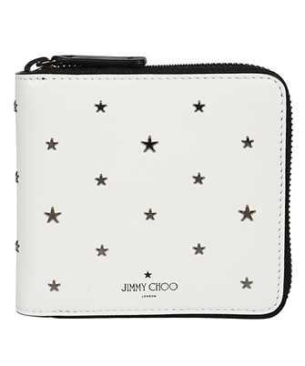 star-studded logo-print wallet