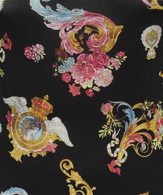 baroque print crew-neck T-shirt