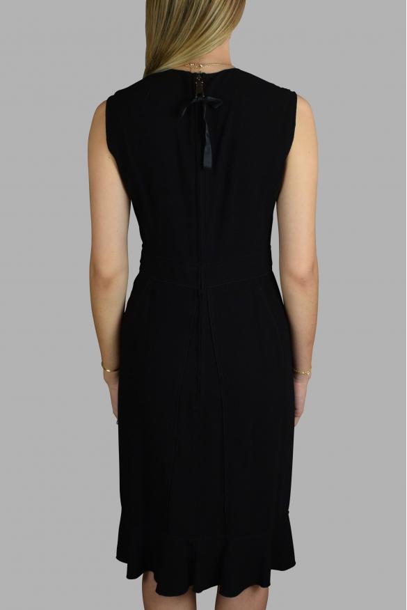 Luxury dress for women - Prada black long dress.
