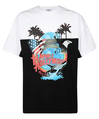 vetements planet holly cut up t-shirt