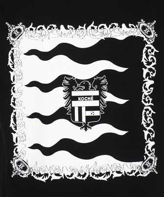 Kochè HERALDIC FLAGS PRINT T-shirt