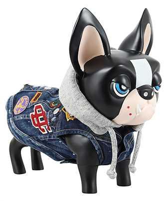 Dsquared2 D2 x POLDO HOODED PATCH Dog vest