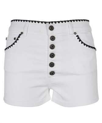 shorts in bull denim