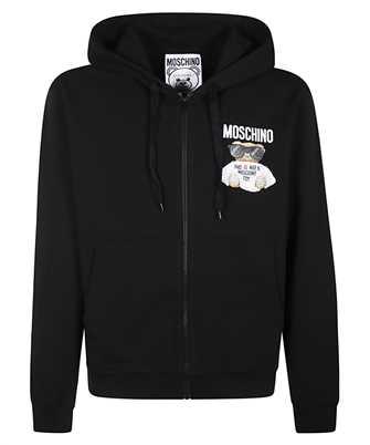 moschino micro teddy bear hoodie