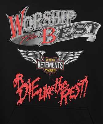 vetements worship the best hoodie