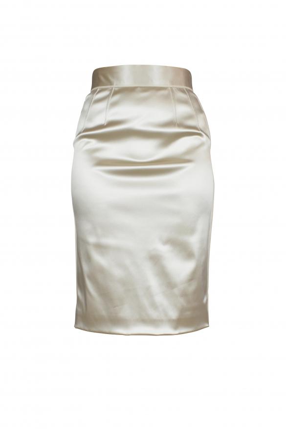 Luxury skirt for women - Dolce & Gabbana gold skirt