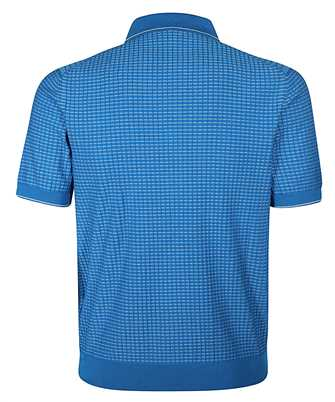 Brioni KNITTED MOTIF Polo