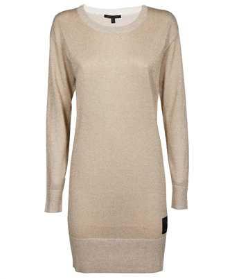 armani exchange knit midi dress