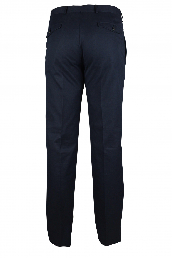 Luxury trousers for men - Prada dark blue trousers with pockets