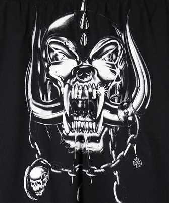 vetements big skull motorhead shorts