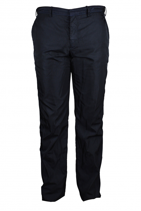 Luxury pants for men - Prada blue nylon pants