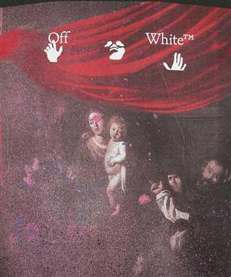Off-White SPRAYED CARAVAGGIO SLIM Hoodie