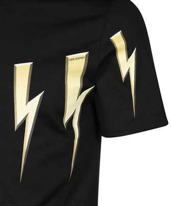 neil barrett gold bolt t-shirt