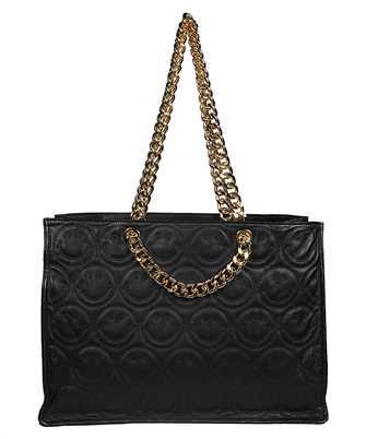 black Smiley© Edition Large Nappa Shopper Tote